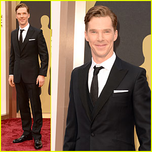Benedict Cumberbatch - Oscars 2014 Red Carpet