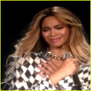 Beyonce Cries on Stage at Final 'Mrs. Carter Tour' Show (Video)