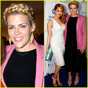 Busy Philipps & Debby Ryan Are Two Gorgeous Ladies at Norma Jean Gala 2014!