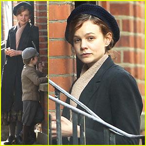 Carey Mulligan Dons Her Period Garb for 'Suffragette' Scenes