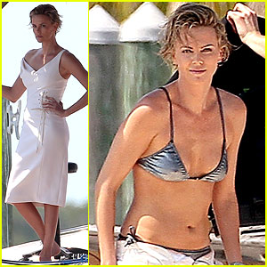 Charlize Theron Bares Her Bikini Body for Miami Photo Shoot!