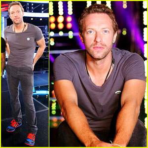 Chris Martin Helps Coaches on 'The Voice' - See All the Photos!
