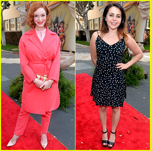 Christina Hendricks & Mae Whitman Are Pixie Perfect at 'Pirate Fairy' Premiere!