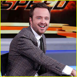 Could Aaron Paul Be More Romantic? He Falls More In Love with His Wife Every Day!