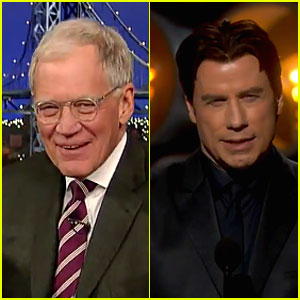 David Letterman Offers Top 10 List to Mispronounce Idina Menzel After John Travolta's Butcher at the Oscars 2014
