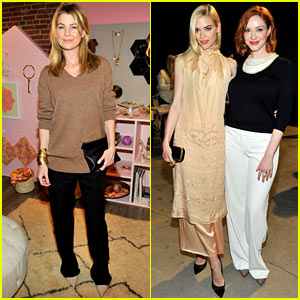Ellen Pompeo & Jaime King: Hunters Alley Launch Party!