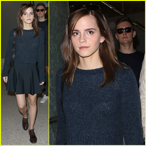 Emma Watson Arrives in Los Angeles for 'Noah' Premiere!