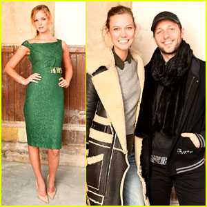 Erin Heatherton Glams Up for Burberry's Evening with The XX
