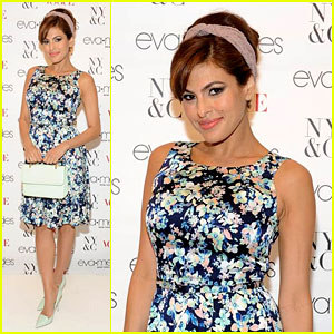 Eva Mendes Designed Her Own Prom Dress & The Inspiration Was Epic