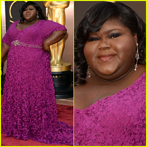 Gabourey Sidibe Gets to Work on Oscars 2014 Red Carpet!