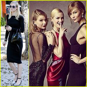 Jaime King Shares Cute Oscars Pic with Taylor Swift & Karlie Kloss!