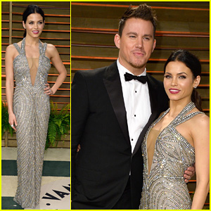 Jenna Dewan & Channing Tatum - Vanity Fair Oscars Party 2014
