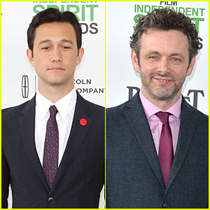Joseph Gordon-Levitt & Michael Sheen: Man Power at Independent Spirit Awards 2014!