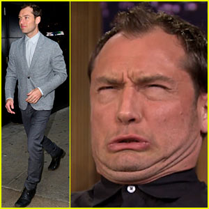 Jude Law Has 'Tonight Show Funny Face Off' with Jimmy Fallon - Watch Now!