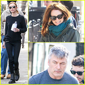 Kate Bosworth Hides Her Water on 'Still Alice' Set!