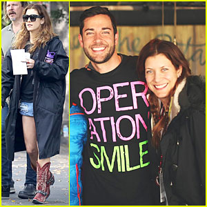 Kate Walsh Helps Heal Smiles Before Transforming into a Law-Abiding 'Judge'!