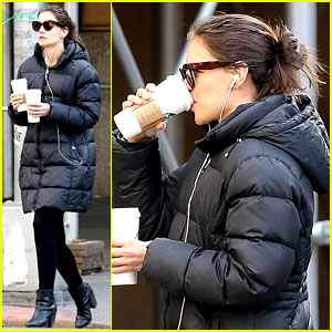 Katie Holmes: New York Has Been Very Good to Suri & Me!