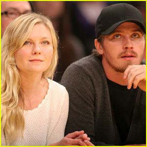 Kirsten Dunst & Garrett Hedlund: Date Night with the Lakers!