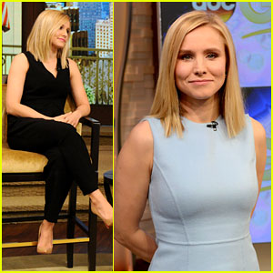 Kristen Bell Takes 'Veronica Mars' Promo to New York City