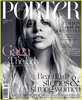 Lady Gaga Goes Makeup Free & Still Looks Amazing on 'Porter Magazine' Cover!