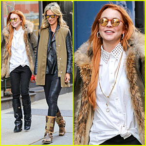 Lindsay Lohan Says Oprah Is the Epitome of How To Balance Work & Life!