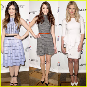 Lucy Hale & Troian Bellisario: 'Pretty Little Liars' Hit PaleyFest 2014!