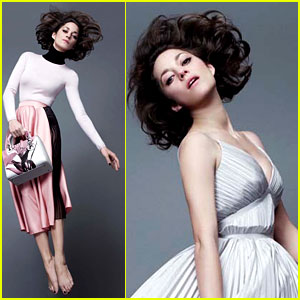 Marion Cotillard Glides Through the Air in 'Lady Dior' Campaign!