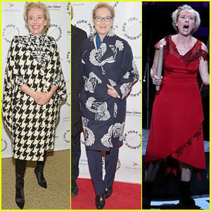 Meryl Streep Supports Emma Thompson at 'Sweeney Todd' Philharmonic Gala!
