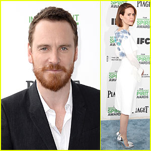 Michael Fassbender & Sarah Paulson - Independent Spirit Awards 2014
