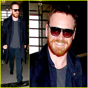 Michael Fassbender Smiles Wide Despite Losing the Oscar