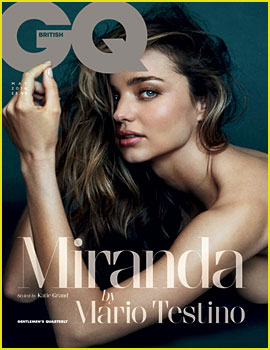 Miranda Kerr Hints at Bisexuality for Naked 'British GQ' Cover!