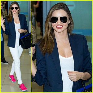 Miranda Kerr Flies to South Korea Amid Sexy 'GQ' Cover Buzz!