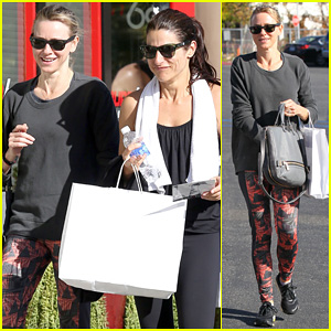 Naomi Watts is Spin Class Ready in Brentwood!