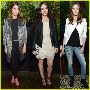Nikki Reed & Jessica Lowndes Attend [BLANKNYC]'s Celebration at Goldie's!
