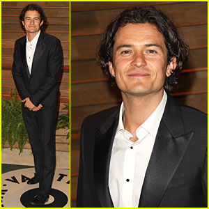 Orlando Bloom Hits Same Vanity Fair Oscars Party as Ex Miranda Kerr