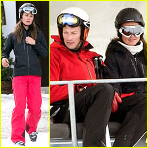 Pippa Middleton & Nico Jackson Test Their Love with Skiing in Austria!!