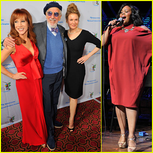 Renee Zellweger & Amber Riley Step Out for The Painted Turtle's Starry Evening!