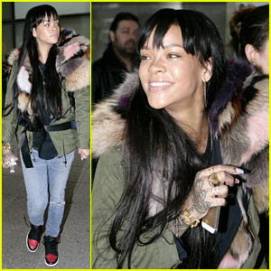 Rihanna Flies to London After Using 'Teen Mom' to Promote Tour