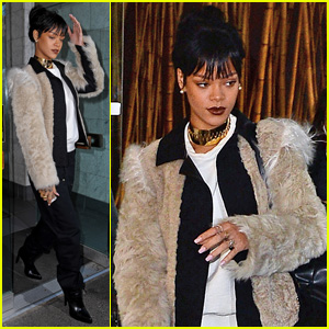Rihanna Steps Out in Style to Visit the Dentist!