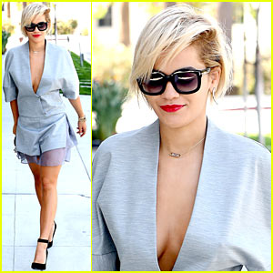 Rita Ora is All About Color for New 'Rimmel London' Ad - Watch Now!