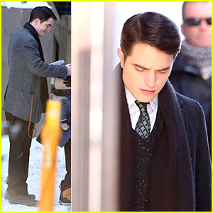 Robert Pattinson is Full of 'Life' for Snow Scenes!
