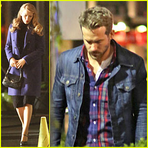 Ryan Reynolds Takes The Other Important Woman in His Life to Dinner (And It's Not Blake Lively)!