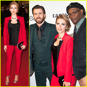 Scarlett Johansson & Chris Evans Take Paris By Storm with 'Captain America 2'!