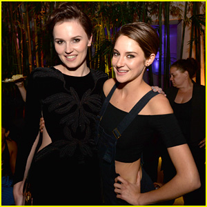 Shailene Woodley Changes From a Dress to Overalls for 'Divergent' After Party