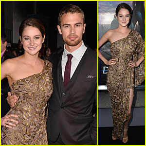 Shailene Woodley Is Golden Next to Theo James at 'Divergent' Premiere!