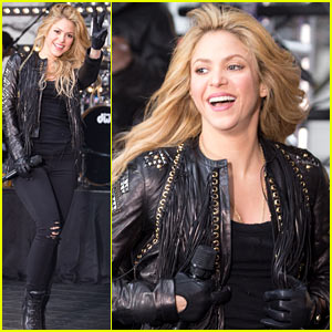 Shakira Brings the House Down with 'Hips Don't Lie' & 'Empire' on 'Today' - Watch Now!