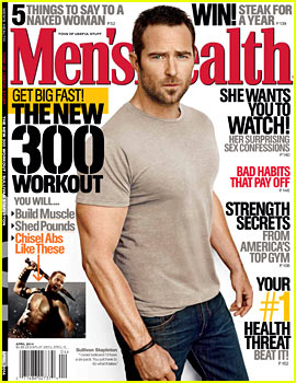 300's Sullivan Stapleton: Staying in Shape is Boring!