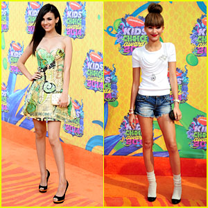 Victoria Justice & Zendaya - Kids' Choice Awards 2014