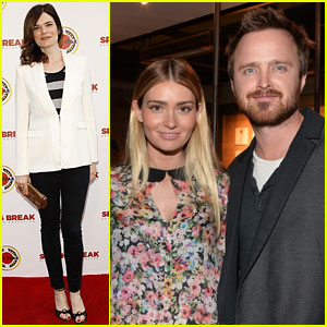 Aaron Paul & Betsy Brandt Renuite at Annual City Year Los Angeles Benefit