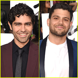 Adrian Grenier & Jerry Ferrara Have an 'Entourage' at MTV Movie Awards 2014